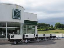 Diesel Road Towable Air Compres