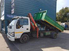 2010 ISUZU NQR TIPPER AND CRANE