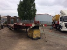 nooteboom tri axle low loader o