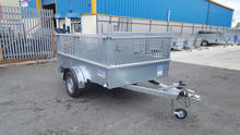 8 X 5 BRAKED SINGLE AXLE TRAILE