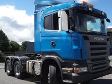 Scania R420 6x4 double drive