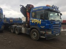 Scania hiab crane lorry P420 do