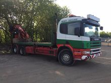 SCANIA 114 380 6X4 WITH ATLAS C