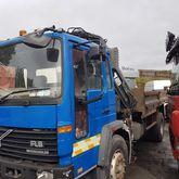 volvo fl6 18  tipper and 4 ton