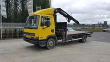daf truck with atlas crane / hi