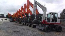 large choice of excavators