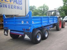 PF Drop Side Tipping Trailers