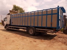 Volvo Truck with Cattle Body