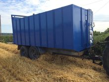 18ft Stanley Grain trailer