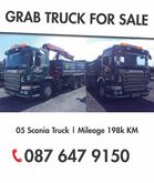 Scania Grab Truck