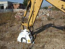 Simex excavator compaction plat