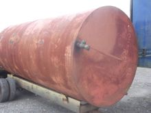 Steel tank 3000 gal & water val