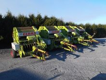4 x Claas 44 Round Balers