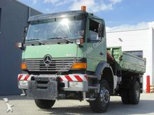 2000 Mercedes 1828 4X4/Dreiseit
