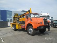 1985 MAN 4x4 HA - FOREUSE/DRILL