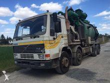Volvo FL10 sewer cleer truck 8x