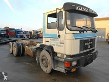 1989 MAN 24-292 F Chassis Accid