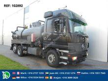 Mercedes ACTROS 2543 6X2 VACUUM