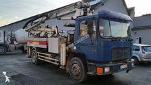 1995 MAN 18.232 cocrete pump tr