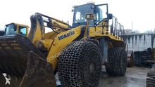 Used Komatsu WA600-6