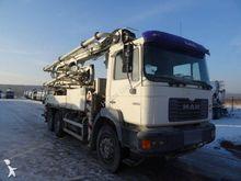 1999 MAN cocrete pump truck tru