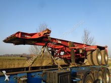 1977 Pacton 2-Axle 20 FT Chassi