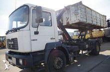2000 MAN 19.372 hook lift truck