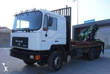 1991 MAN timber truck 6x4 Diese