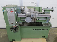 Used SCHAUBLIN 135 i