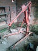 Manual hydraulic crane HEREBY
