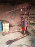 HERMED Hydraulic manual hoist