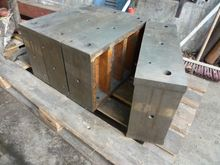 4-Stahl-Rechteck-Auflagen