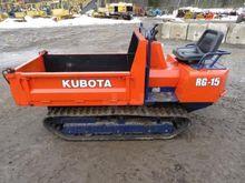 1991 Kubota RG15 Mini Dumper