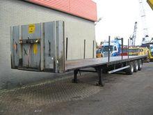 2005 Van Hool Flat trailer