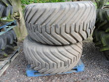 600/55 - 26.5 flotation wheels