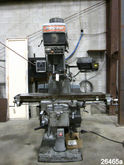 4 HP BRIDGEPORT VERTICAL MILLIN