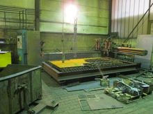 Used CNC flame cutti