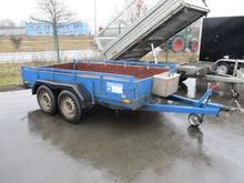 1-axle car trailer HUMBAUR HT 2