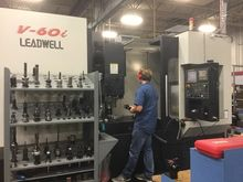 2013 Leadwell V60i CNC Mill