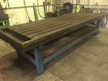 Tee Slotted Cast Iron Table 344