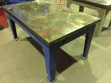 Cast Iron Surface Table 5ft x 3
