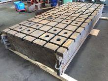 Cast iron tee-slot table 3065x1