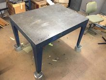 Cast Iron Surface Table 48 x 36