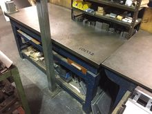cast iron surface table 72 x 36