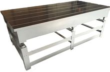 Cast Iron Surface Table Hand Sc
