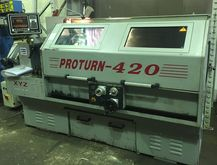 XYZ Proturn 420 CNC Gap Bed Cen