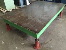 Surface table 1500mm x 2400mm x