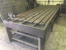 Cast Iron Tee Slotted table 412