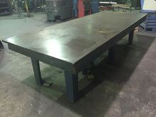 Cast Iron Surface Table 10ft x