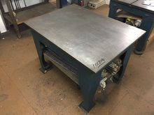 Cast Iron Surface Table  49 x 3
